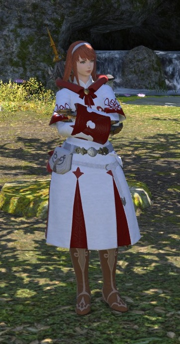 White Mage Robes are like a warm fuzzy blanket