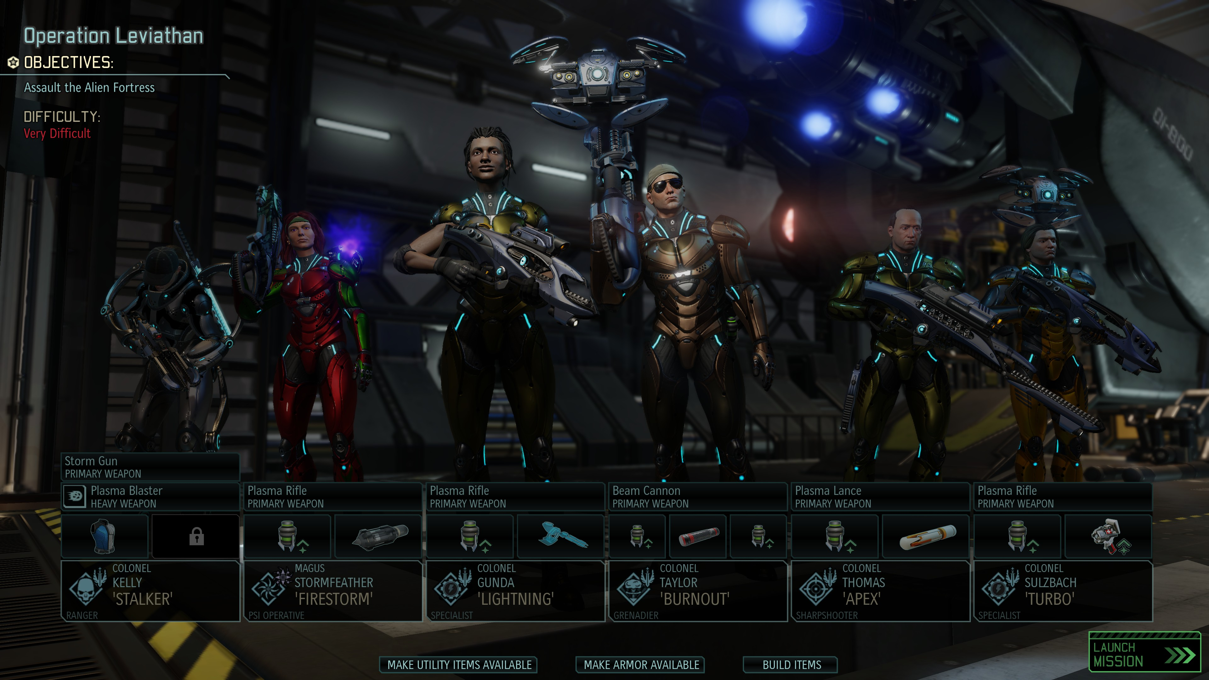 End Game XCOM 2 Squad
